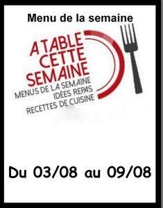 Menu &quot&#x3B; A Table cette semaine&quot&#x3B; #97 avec Magnum Pink and Black