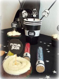 Une birthday party Star wars !