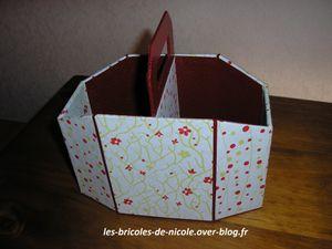 Cartonnage: boite à zapettes
