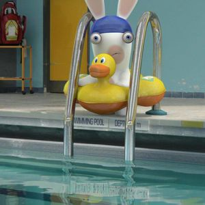 Entraînement piscine pendant les vacances de la Toussaint
