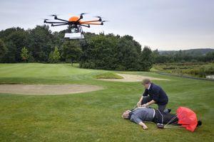 Un drone ambulance
