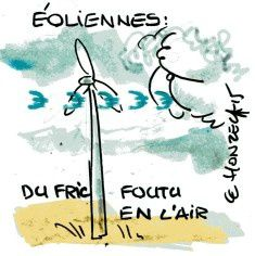 Projets éoliens : attention !