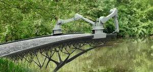 Bientôt un pont imprimé en 3D en plein cœur d'Amsterdam