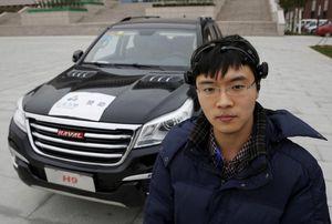 Plus fort que Google car, la voiture chinoise contrôlée par la pensée