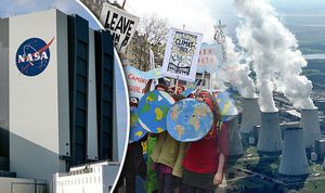 NASA: La combustion des énergies fossiles et la coupe des arbres provoquent un refroidissement global