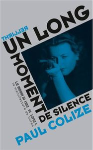 Un long moment de silence de Paul Colize (La Manufacture de livres)