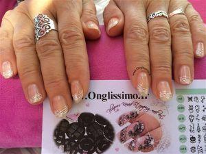 stamping nail art konad Onglissimo m56