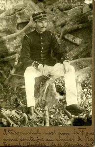 Ouadi Kadja - 4 janvier 1910 : La colonne dirigée par le Capitaine Fiegenschuh a été decimée par le Sultan TADJEDDINE