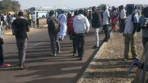 N'djamena: Manifestation des étudiants à l'Université de Toukra ce matin