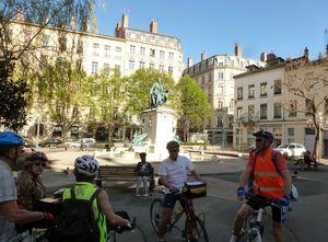 Lyon: une visite a vélo