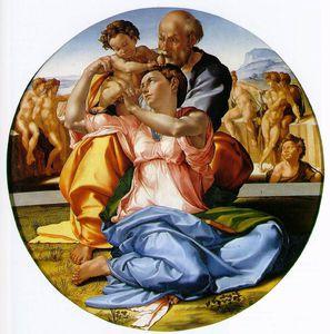 Tondo Doni ou La Sainte Famille de Michel Ange