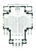 Plan de l'église St Léopold