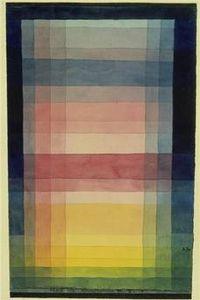 L'architecture de la plaine-1923, Paul Klee