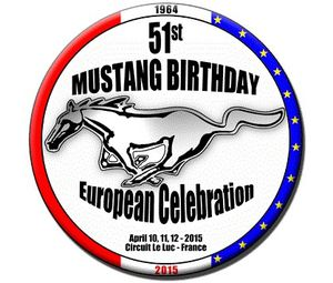 le luc var Mustang Shelby Ford anniversaire circuit birthday european photo picture video