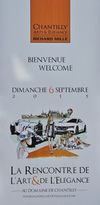 chantilly concours arts elegance mille peter cars auto chateau photo picture video