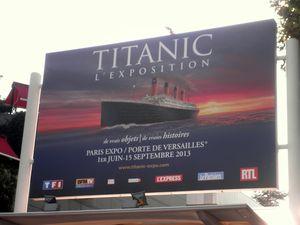 Titanic : l'exposition, porte de Versailles