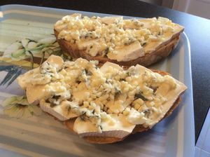 Tartine au fromage