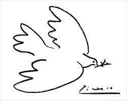 la belle colombe de la paix de Pablo Picasso