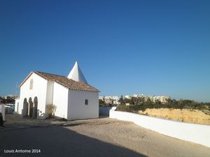 Une chapelle en Algarve