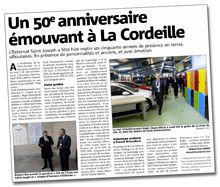 50° anniversaire de l'ESJ à La Cordeille /.../ 50th anniverary of ESJ at La Cordeille
