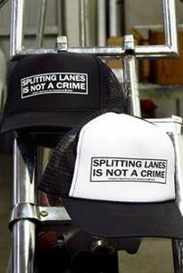 Lane splitting is no a crime