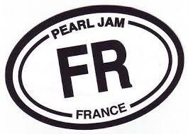 Pearl jam france