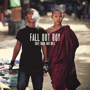 fall out boy feat courtney love sur son album save rock and roll