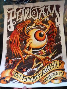 PEARL JAM : LIVE WORCESTER, USA (15/10/2013)