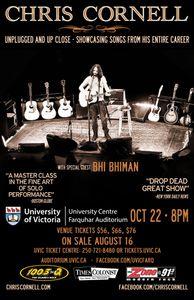 Chris Cornell : Live Victoria, BC (22/10/2013)