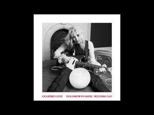 Courtney Love : le nouveau titre &quot&#x3B;Wedding Day&quot&#x3B;