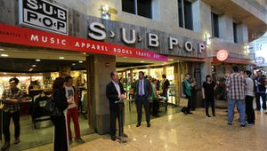 Sub Pop à ouvert une boutique à l'aéroport de Seattle