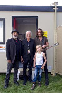 Jimmy Page et Chris Cornell...