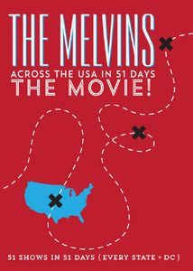 The Melvins : Across The USA in 51 Days The movie (DVD) 2015
