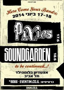 soundgarden et les pixies en concert en Israel