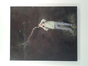 &quot&#x3B;Le Maître des anges rebelles&quot&#x3B;, une exposition personnelle de Bruno Perramant à la galerie in Situ, Paris