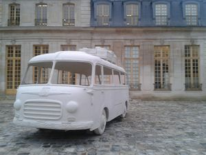 Au-delà de cette frontière, votre ticket n'est plus valable, l'exposition-ouverture du Centre d'art Le Pavillon Vendôme de Clichy