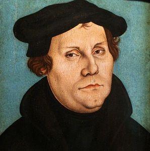 les vertus, l'Espérance: Désespoir de Luther