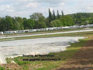 Plus de 150 caravanes à St-Rémy