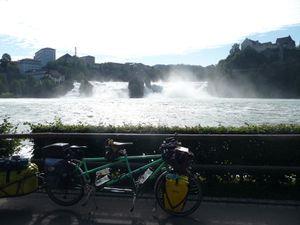 Les chutes du Rhin.