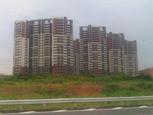 densités humaines en Chine