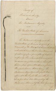 Le traité de Gand 24 décembre 1814