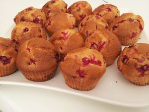 muffins aux groseilles