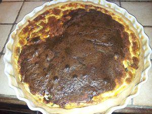tarte poivrons et fromage