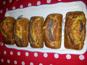 cake aux anchois et romarin