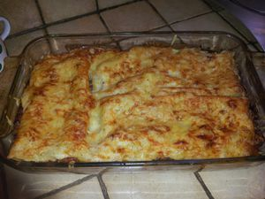 Lasagnes bolognaises ww