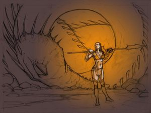 Dragon hunter...