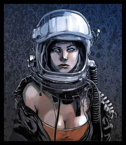 Space Girl...