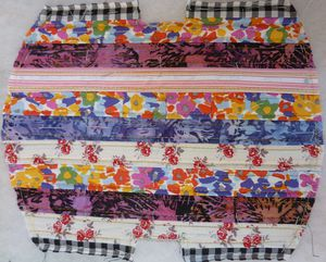 Tuto COUTURE : trousse patchwork simple #2