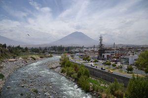 Copacabana (Bol.) - Cusco (Pérou) - 623 km en vélo + 430 km en bus - Premiers kilomètres au Pérou