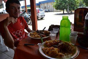 Santa Elena de Uairen (Venezuela) - Lethem (Guyana) - 370 km - Parenthese bresilienne